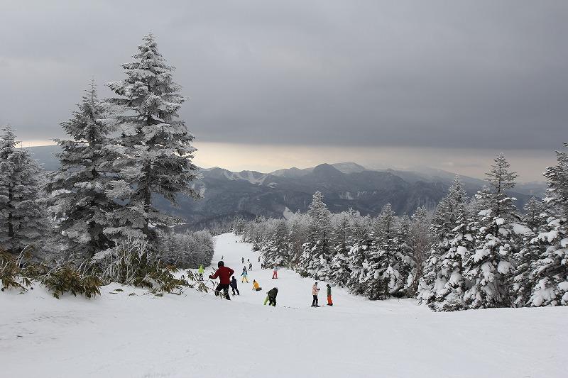 焼額山スキー場 ロープウェイ山頂
