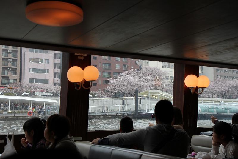 水上バス,東京クルーズ,お花見